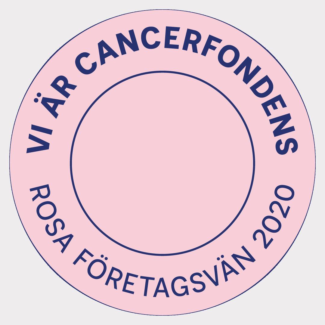 Taxi23 är Cancerfondens Rosa Företagsvän